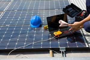 شرکت رسام یو پی اس : نگهداری سیستم خورشیدی