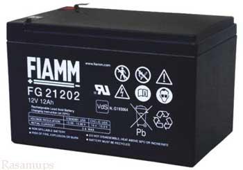 شرکت رسام یو پی اس : آلارم وضعیت باتری ضعیف از یو پی اس