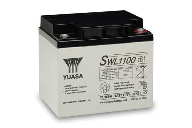 شرکت رسام یو پی اس : باتری یوآسا ۱۲ولت-۴۰ آمپر ساعت